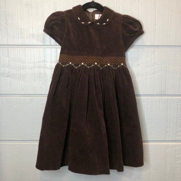 Emily Lacey Other - Emily Lacey Brown Smocked Dress 4